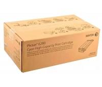 Картридж Xerox 106R01400 голубой для Xerox Phaser 6280  оригинальный