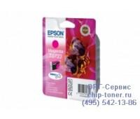 Картридж пурпурный Epson Т0733 оригинальный