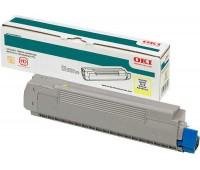 Картридж желтый OKI C9600 / C9800 / C9650 / C9850,  оригинальный