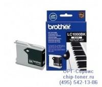 Струйный картридж черный Brother LC1000BK,  оригинальный