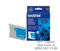 Струйный картридж голубой Brother LC1000C,  оригинальный