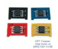Чип голубого картриджа Samsung CLP-350
