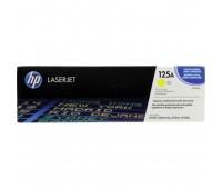 Картридж желтый  HP Color LaserJet CP1215 / CP1515 / CP1518 / CM1312,  оригинальный