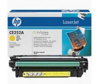 Картридж желтый HP Color LaserJet CP3520,  CP3525,  CP3525n,  CP3525dn,  CP3525x,  CM3530,  CM3530fs,  оригинальный