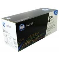 Картридж лазерный HP Color LaserJet Enterprise CP5520 / CP5525 / M750 черный (HP 650A) ,оригинальный