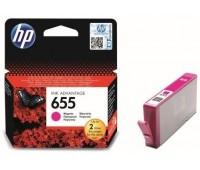Картридж пурпурный струйный HP 655,   оригинальный