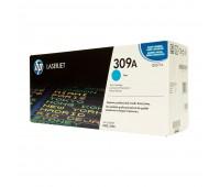 Картридж голубой HP Color LaserJet 3500 / 3550 / 3700 оригинальный