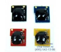 Чип желтого картриджа HP CP2025/CM2320